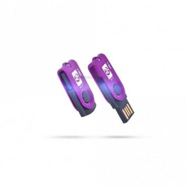 8GB/16GB/32GB Foldable Mini Flash Driver Memory Thumb Stick Disk-Purple