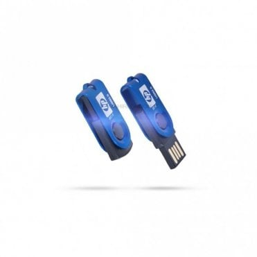 16GB/32GB Foldable Mini Flash Driver Memory Thumb Stick Disk-Blue