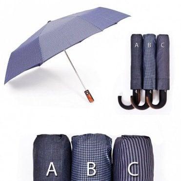 K-66  Premium Quality Wooden grip effect Umbrella