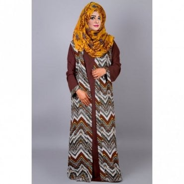 ML 31405 Two piece Abaya & Jacket