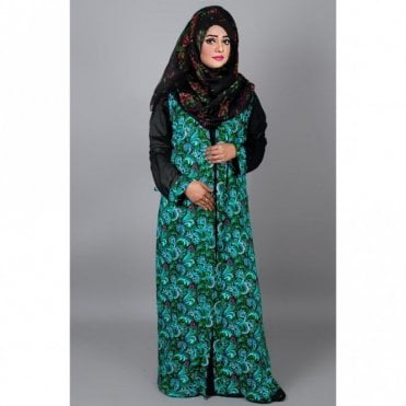 ML 31408 Two piece Abaya & Jacket