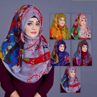 ML 6204 Floral Printed-5 Colours