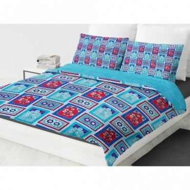 ML 6236 Reversible Super King Size Duvet Set