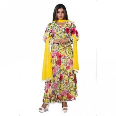 ML 12569 Churidar Long Dress Suit