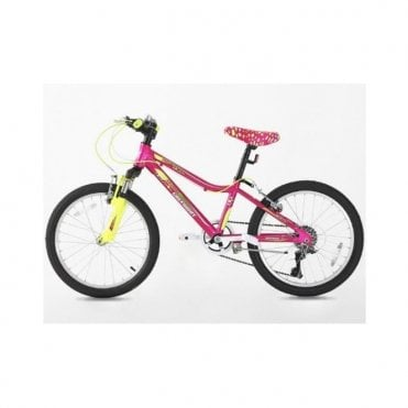 KB 13:GIRLS 20 INCH ALLOY MOUNTAIN BIKE WITH WITH SHIMANO GEARS
