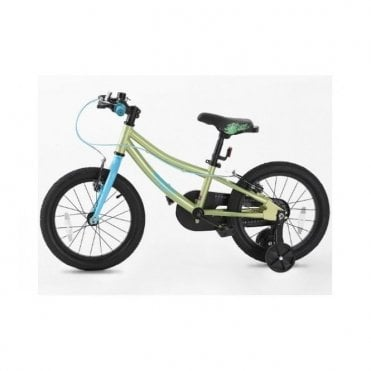 KB 14:CHILDRENS 16 INCH BIKE WITH SUPPORT WHEEL