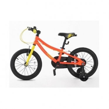 KB 15:CHILD 16 INCH BIKE WITH SUPPORT WHEEL