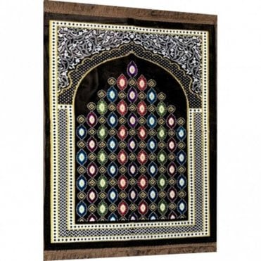Islamic:: Islamic Prayer Mat / Rug / Musallah / Janamaz [ML 55R]