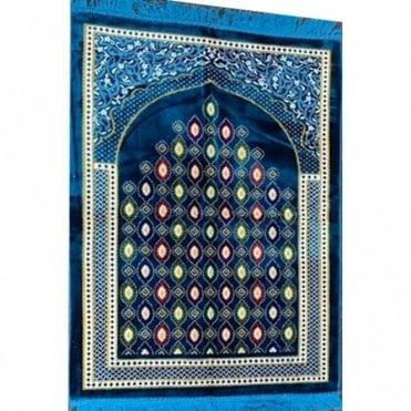 Islamic:: Islamic Prayer Mat / Rug / Musallah / Janamaz [ML 57R]