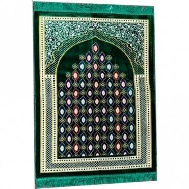 Islamic:: Islamic Prayer Mat / Rug / Musallah / Janamaz [ML 58R]