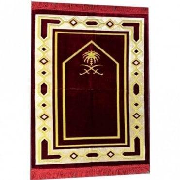 Islamic:: Islamic Prayer Mat / Rug / Musallah / Janamaz [ML 64R]