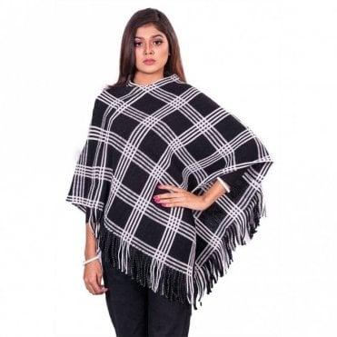 ML 31823 Women's Poncho Shawl