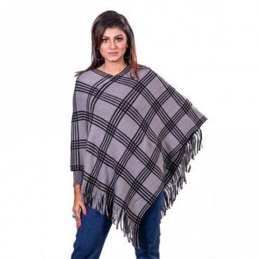 ML 31824 Women's Poncho Shawl