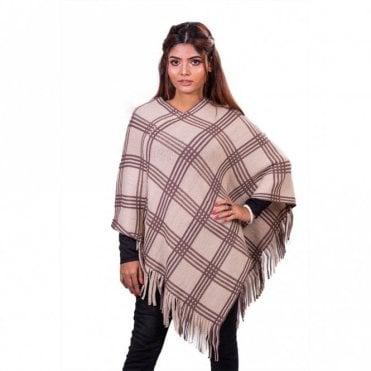 ML 31825 Women's Poncho Shawl
