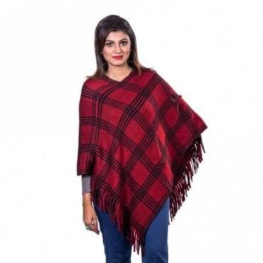ML 31826 Women's Poncho Shawl