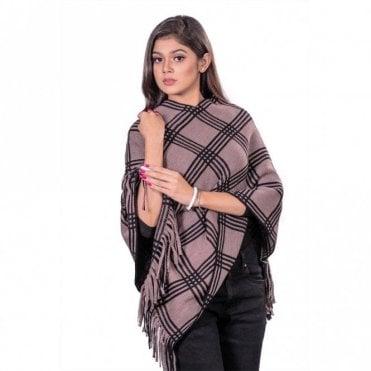 ML 31827 Women's Poncho Shawl