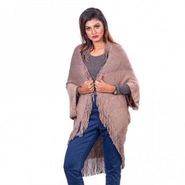 ML 31828 Women's Poncho Shawl