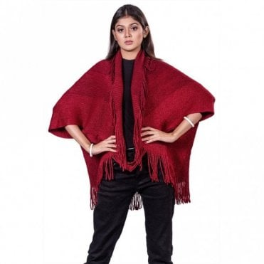 ML 31829 Women's Poncho Shawl
