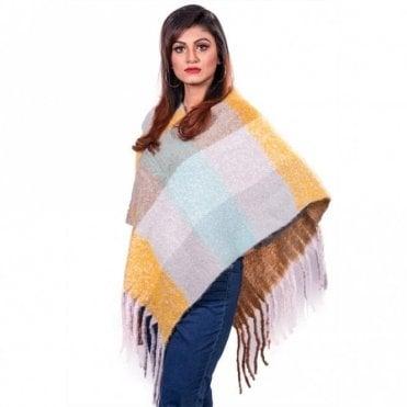 ML 31833 Women's Poncho Shawl