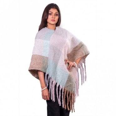 ML 31837 Women's Poncho Shawl