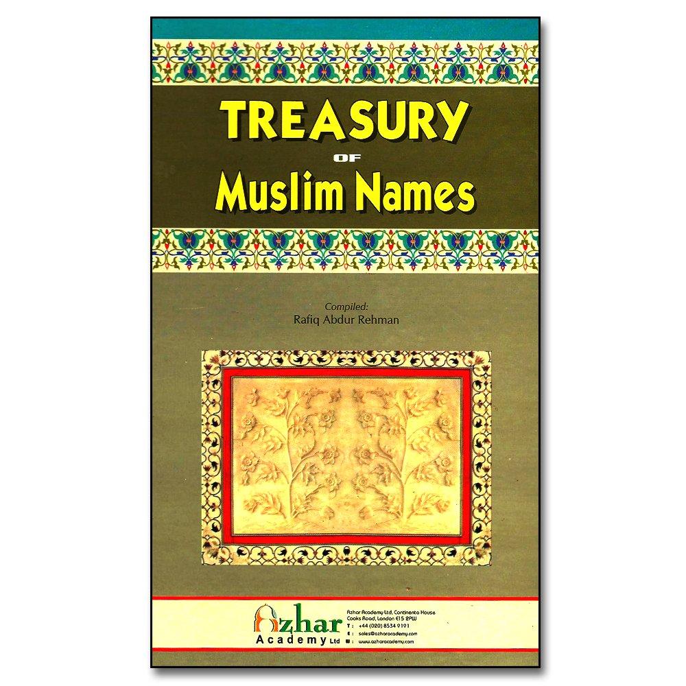 Islamic Books:: MLB91 Treasury of Muslim Names - Islamic ...