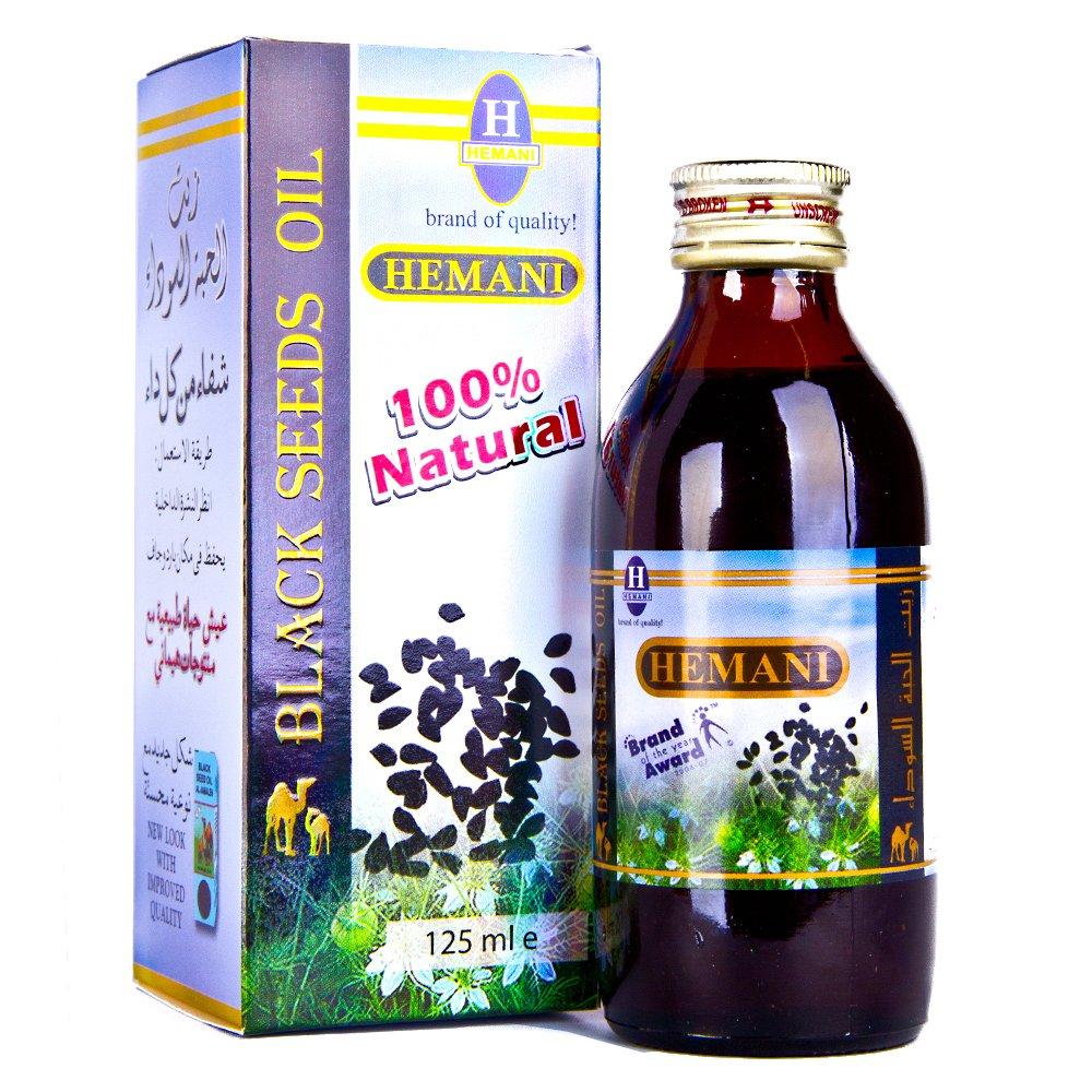Health Mlp 059 Hemani Black Seed Oil 125ml Health