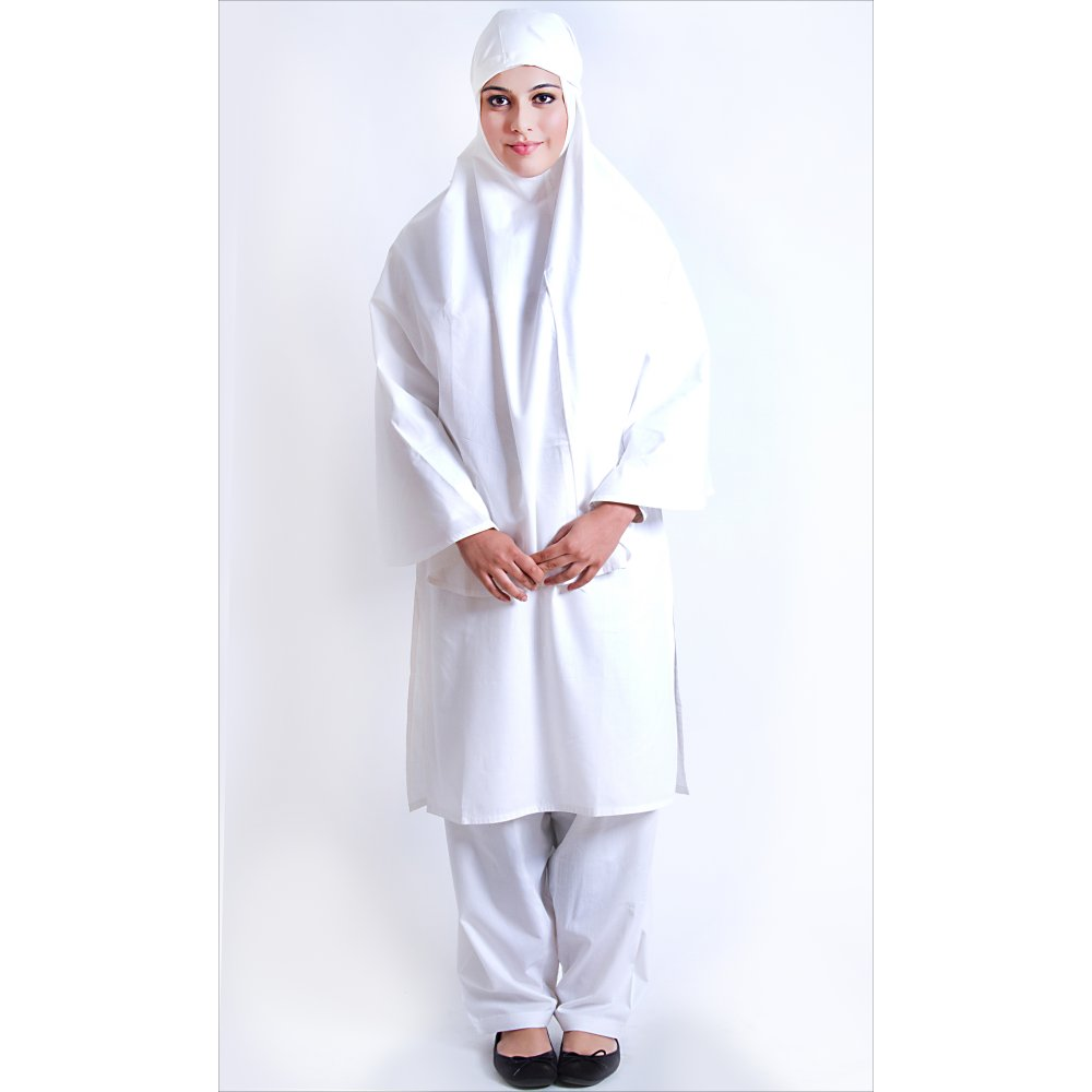 Ihram Kids For Sale Dubai: Hajj Essentials:: 100% Pure Cotton Ladies Ehram Set
